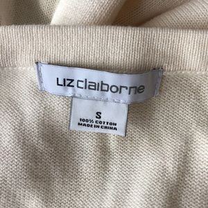 Liz Claiborne multicolored sweater small